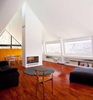 Casa en los pirineos Cadaval+Sola morales